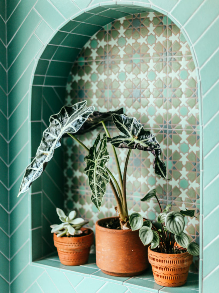 example-of-arch-niche-tiled