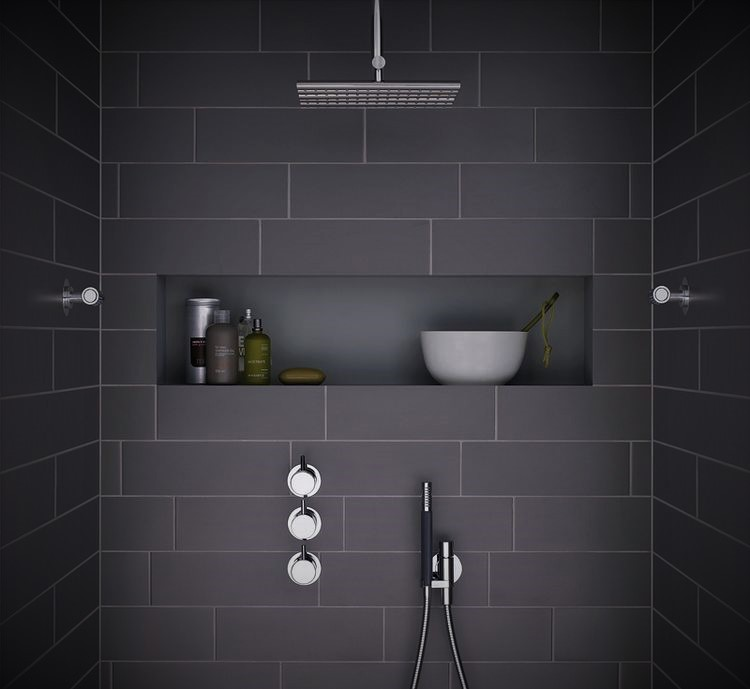 example-of-practical-shower-shelf