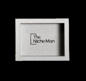 The Niche Man Shower niche Shopping Cart Niche 265 x 345 x 90