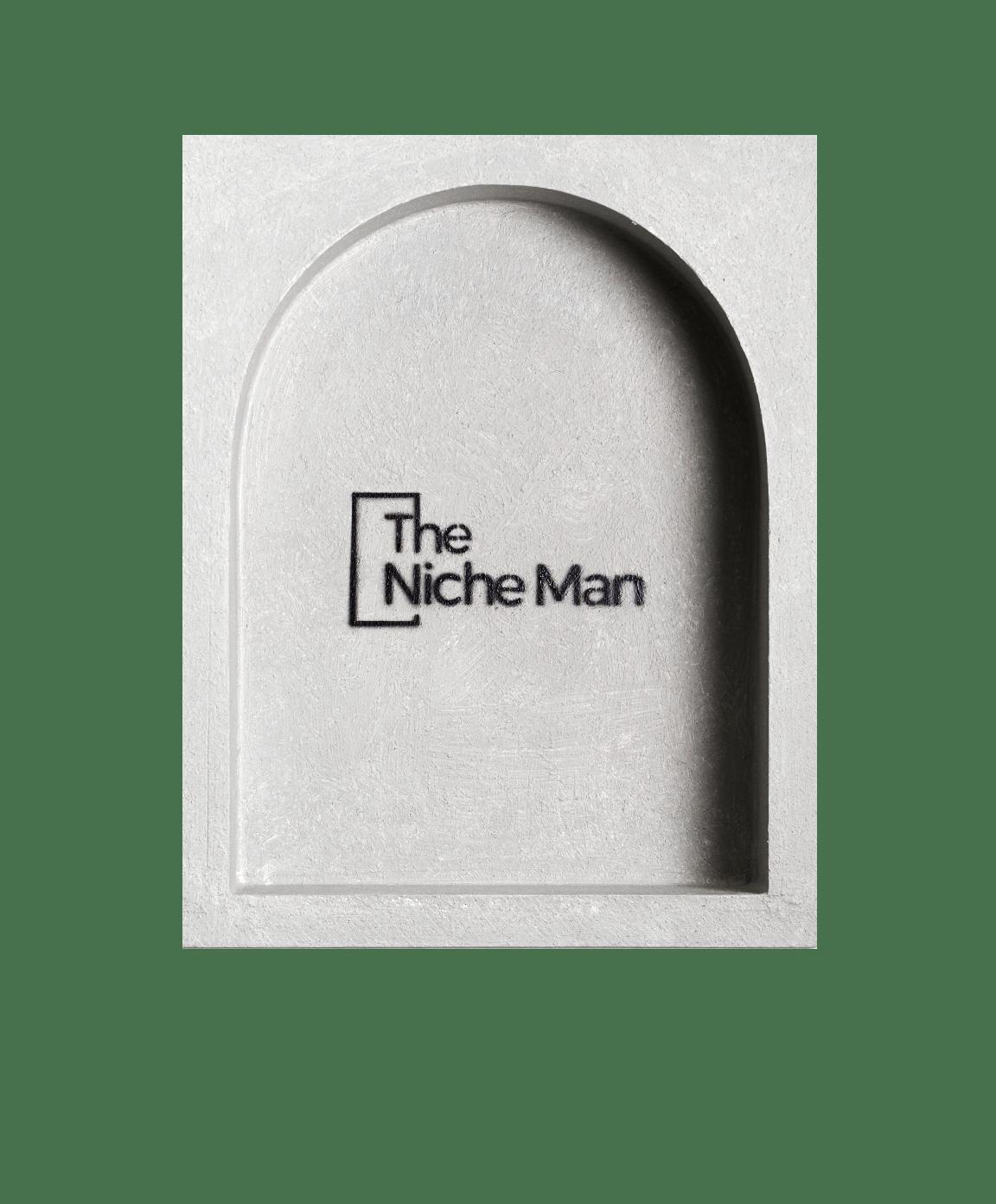 The Niche Man Arch niche shower niche The Block 2020